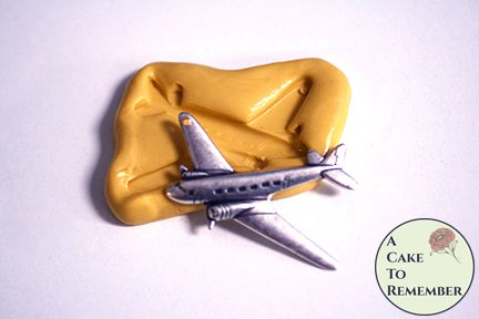 Little airplane mini mold for cake pops M5237