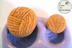 Silicone button or medallion Mold for cake decorating, chocolate, hard candy, polymer clay, resin, utee mold. M23