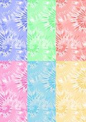 Digital download--Printable pastel tie dye JPG files for cake decorating or cupcake decorating, scrapbooking, tie dye digital paper