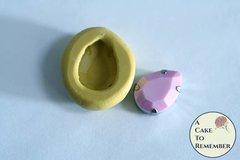 Smaller pear shaped jewel mini mold, food grade silicone M5210