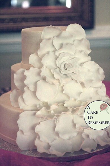 Extra Petals For The Large Gumpaste Flower Wedding Cakes DIY Cake Kit