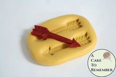 "1.5"" Arrow silicone mold for cake decorating and crafts. M5109"