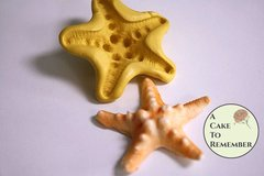 Silicone spiny starfish mold for cake decorating, polymer clay mold, resin mold, soap mold, silicone mould, fondant starfish mold  M42