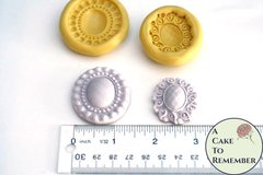 Set of jewel molds for cake decorating or cupcake decorating M1103