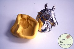 3D horse head silicone mold for food or soap making M5235