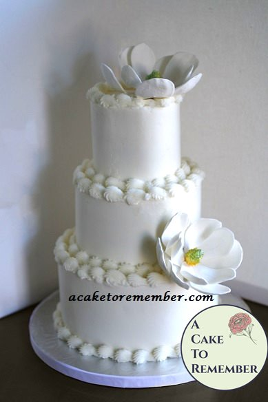 How To Make A DIY Wedding Cake Tutorial