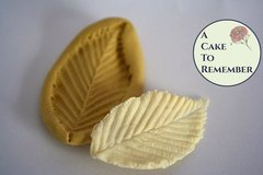 Leaf silicone mold for cake decorating or polymer clay, chocolate, silicone mold  M037