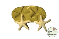 Silicone starfish Mold for cake decorating, chocolate, polymer clay, resin, silicone mould, small starfish mould, fondant starfish mold
