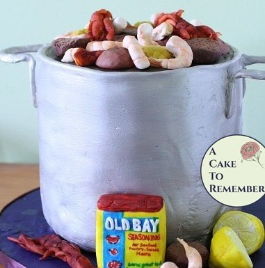 Edible stew pot decorations for cake decorating, cupcake decorating, groom's cakes, father's day or birthday cakes.
