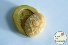 Mini mold floral cabochon flexible silicone mold. M5211