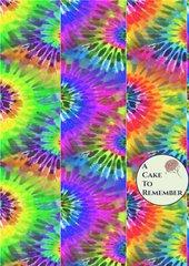 Digital download--Printable bright tie dye JPG files for cake decorating or cupcake decorating, scrapbooking, tie dye digital paper