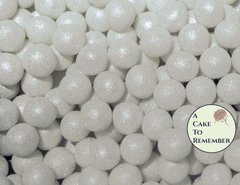 8mm Fondant pearls- 100 pearls for cake decorating