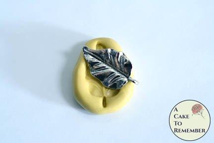 Little leaf mini food grade silicone rubber mold M5204