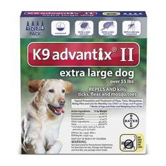 Advantix II Dog XLarge Over 55#