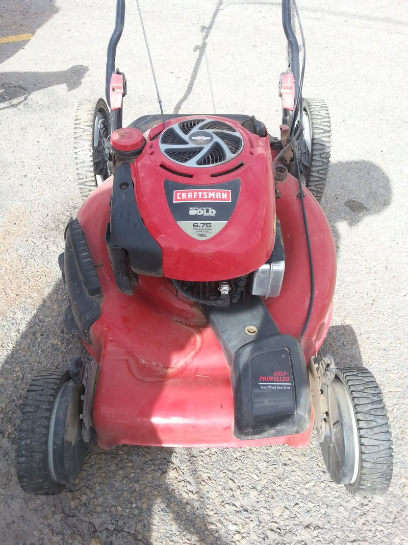 Craftsman Model 917 Push Mower : Craftsman lawn mower model carburetor