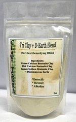 Tri Clay + D-Earth Detox Blend 8oz by Clay Terra