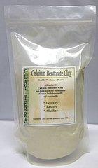 Calcium Bentonite Clay 100% Pure - Food Grade 2 lb