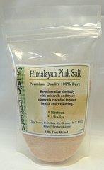 Himalayan Pink Salt 100% Pure premium quality 1 lb. fine grain