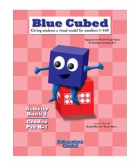 #106471 Blue Cubed Activity Book 1