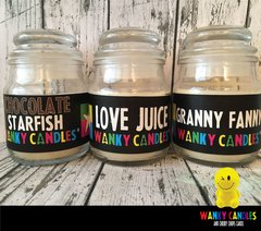wanky candles | cheeky chops cards & wanky candles