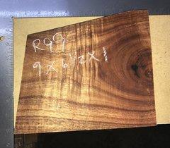 Hawaiian Koa Board Curly  4/4 #R-99