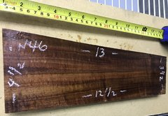 Hawaiian Koa Board Curly 4/4 #N-46