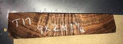 Hawaiian Koa Board Curly  4/4 #T-17