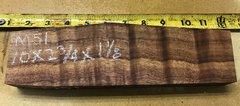 Hawaiian Koa Board Curly Chocolate 4/4 #M-51