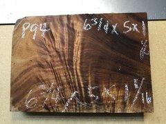 Hawaiian Koa Board Curly 4/4 #P-94