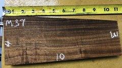 Hawaiian Koa Board Curly Chocolate 4/4 #M-37