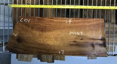 Hawaiian Koa Board Curly 4/4 #M-107