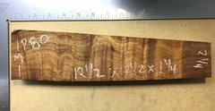 Hawaiian Koa Board Curly 4/4 #P-80