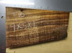 Hawaiian Koa Board Curly  4/4 #T-10