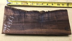 Hawaiian Koa Board Curly Chocolate 4/4 #M-61