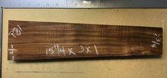 Hawaiian Koa Board Curly 4/4 #P-81