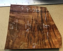 Hawaiian Koa Board Curly 4/4 #P-20