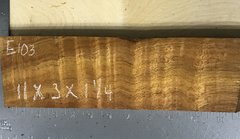 Hawaiian Koa Board Curly 4/4 #E-103