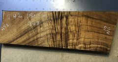 Hawaiian Koa Board Curly 4/4 #P-42