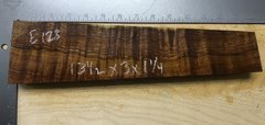 Hawaiian Koa Board Curly 4/4 #E-123