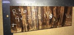 Hawaiian Koa Board Curly  4/4 #R-36