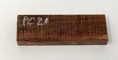 """Hawaiian Koa Board Curly 7/16"""" thick #PC-21"""
