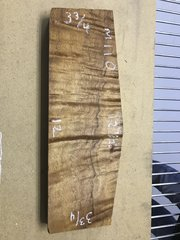 Hawaiian Koa Board Curly Gold in color 4/4 #M-110