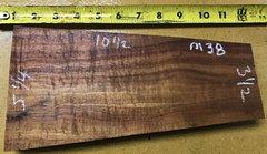 Hawaiian Koa Board Curly Chocolate 4/4 #M-38