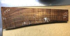 Hawaiian Koa Board Curly 4/4 #P-96