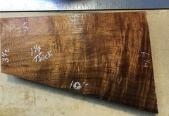 Hawaiian Koa Board Curly 4/4 #P-5