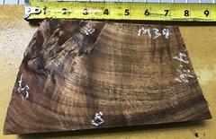 Hawaiian Koa Board Curly Chocolate 4/4 #M-34