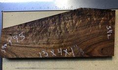 Hawaiian Koa Board Curly 4/4 #P-95