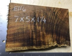 Hawaiian Koa Board Curly 4/4 #E-116