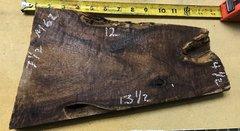 Hawaiian Koa Board Curly Chocolate 4/4 #M-62
