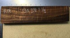 Hawaiian Koa Board Curly 4/4 #R-14